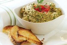 Recipes-Party Ideas-Pates, Spreads & Compound Butters / Collection of spreadable foods / by Arlene Allen
