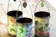 can crafts / by Rebecca VanCuyk