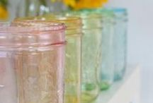 Bottles and Mason Jars / by Lexie of Buttons Brigade