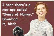 "Honeybadger Humor / Humor me!!! Hahahaha!! / by Elisa ""Ellie"" Mass"