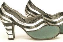 Shoes Through Time / Women's shoes, historical shoe fashion,  shoes 1700s, shoes 1800s, shoes 1900s / by Suzie Johnson