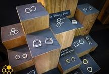 Jewelry Displays / Creative and clever ways to display jewelry for sale. / by Pretty Things Blog :: Lori Anderson Designs