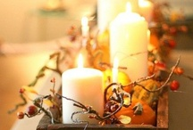 fall decorating ideas / by Nicole Siemens