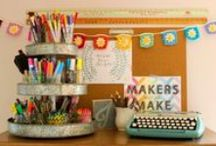 Organized Crafting / by Erika Michaels