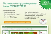 Garden Planning Software - Which Best Buy / With Shoot's award-winning garden design software, planning your plot could not be simpler. Voted by Gardening Which Magazine as a 'Best Buy'. By planning your garden online with Shoot, you will also be able to take better care of your plants throughout the year. Every month we will send you a personal care advice sheet linked to the plants in your garden design. / by Shoot Gardening
