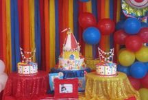 Max's 1st Birthday--party ideas / Circus party ideas  / by Jennie Renee Zamora