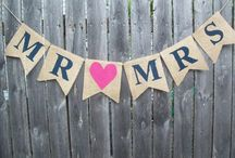 Wedding Ideas / Outdoor. Rustic. Elegant. Classic. Valentine's. Turquoise. Red. Hint of burlap. Two as One. / by Amy Jackson