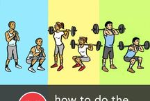 Exercises! / The best exercises you can do, mostly non machine based! / by Coach Fit Puzzle