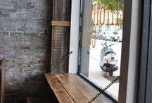 Coffee Shop Inspiration / The modern-day well; a gathering place / by Nina Blevins