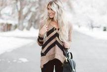 Fall/Winter Fashion / by Nicole Ellingson