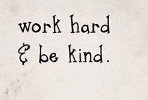 inspirational words / by Wendy Bertello