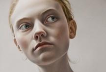 Portraits / Art / by Louise Sanfaçon