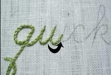 stitchery / by Wendy Bertello