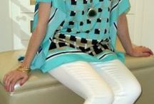 Cute Tops / Sometimes all you need is a cute top to make your wardrobe wow.Here are a few of the latest I found that I hope you'll love including tops with sleeves that are hard to come by! / by Fabulous After 40 - Deborah Boland