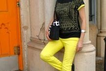 Neon / Can you wear neon over 40. -Yes, in small does. Take a look / by Fabulous After 40 - Deborah Boland