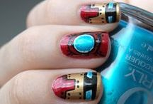 Sparkly/Geeky Nail Polish / by Skye Kilaen