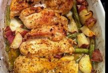 """DINNER""  Recipes / by Linda Hunt"