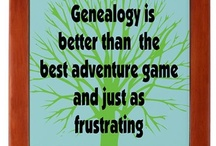 Geneology  / I've been researching both sides of my family off and on for the last 25 years. It is a fun hobby, but at times I had to step away just to keep my sanity....;)  / by Stacy Geabes