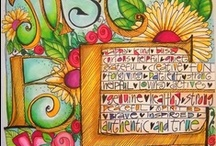 journals / by Cathy Gearhart
