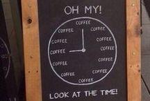 Coffee O'Clock / Coffee, Java, Joe, Espresso, It's All Good / by Jeanne Kimsey