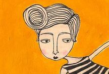 Illustrated: People / by Sarah Carles