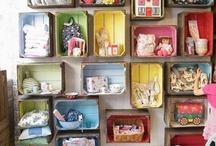 Storage Ideas / by Donna Flower Vintage