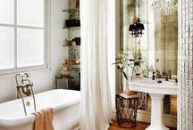 Bathroom organization & such / by Mel Pad