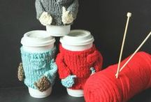 Knitting and Crochet / Grab your needles and hooks and get busy knitting or crocheting these fun fashions and items! / by Alissa {Fun Finds for Families}