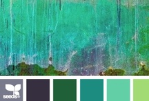 { patinaed hues } / by Design Seeds