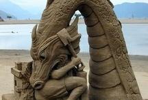 Art - Sculpture / by Rochelle G