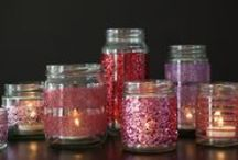 Crafts: Mason Jars / crafting with jars, bottles, vases, cups / by Alicia Thomas