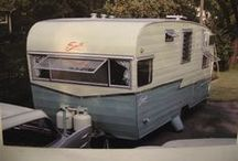 Vintage Campers, Camping, Glamping / by Amy Vollmer