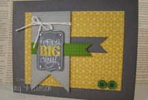 Cards / Mostly stampin up! cards but a few others as well / by Wendy Carr