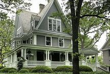 exteriors: curb appeal / home exteriors / by sentimentaljunkie