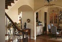 Interiors: living space | foyers / by sentimentaljunkie