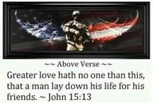 Patriotic & American Heroes / My def of a hero lies on this page and also my pride as an American and as a veteran. Freedom is not free, support our troops and their families. I am a USAF veteran! / by Jess Helmbrecht