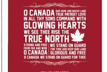 Canada / My home and native land ❤️ / by Wendy Carr