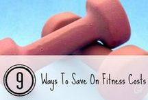 Frugal Fitness / Learn to save money on fitness from fitness equipment, fitness clothing, and other ways to save while keeping fit! / by Briana Carter