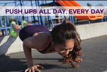 I ♡ Fitness / We're working, we're moving, we're in the zone, we'regrooving! / by Joyce ☼ Hertrich