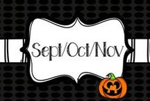 September/October/November / by Nicki Thigpen