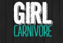 Girl Carnivore / Showcasing the meaty recipes from food blog GirlCarnivore.com Covering all things savory for your inner meatetarian - barbecue, smoking, beef, recipes, grilling, and much more!  / by Kita Roberts