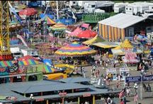 Iowa State Fair / This is our board for everything related to the Iowa State Fair! The first Iowa State Fair was held October 25 to 27,1854 in Fairfield, twenty years before America's great westward movement began. / by Travel Iowa