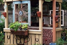 GARDEN SHEDS, Cottages & Tiny Houses / by Rhonda Moore