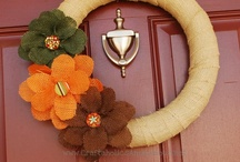 Wreaths and Outdoor decor / by Krystyna Upchurch