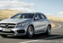 Mercedes-Benz GLA / by Redaktion Mercedes-Fans