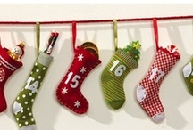 Christmas...Stockings, Large & Small. / A place for all the wonderful Christmas Stocking that I have pinned. I have ones for Santa to fill that hang on the mantel, but I've also include some ornaments too. I have found so many that they needed their own board. Enjoy!!! / by Sandra Caulder