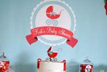 Baby showers / Ideas y tips para decorar La Celebración de Baby Showers. / by LaCelebracion.com