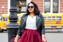 Plus Size Fashion / It's tough to find trendy & affordable looks for curvier figures. I'm hoping this board will help all those out there that want to look stylish / by Chrissy T
