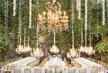 Decor | Chandeliers  / Dazzling ideas for perfect chandeliers to crush on  ~ A Good Affair Wedding & Event Production / by A Good Affair Wedding & Event Production