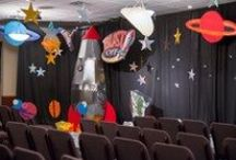 Decorating | Blast Off Weekend VBS 2014 / Super easy and super fun decorating ideas for your Blast Off Weekend VBS! Learn more at http://group.com/vbs / by Group VBS